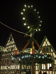 kandel in Germany at night
