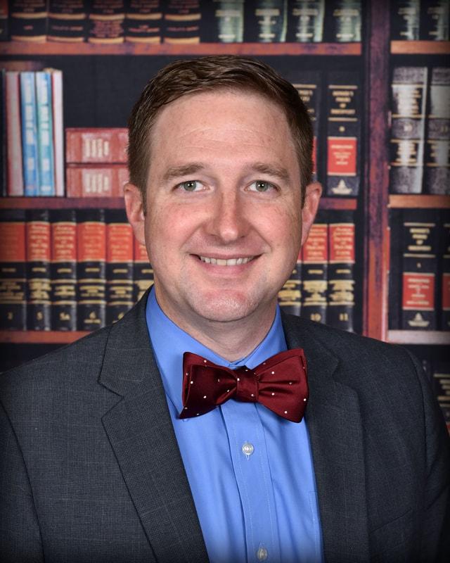 Academic Dean/Chaplain – Justin Hughes