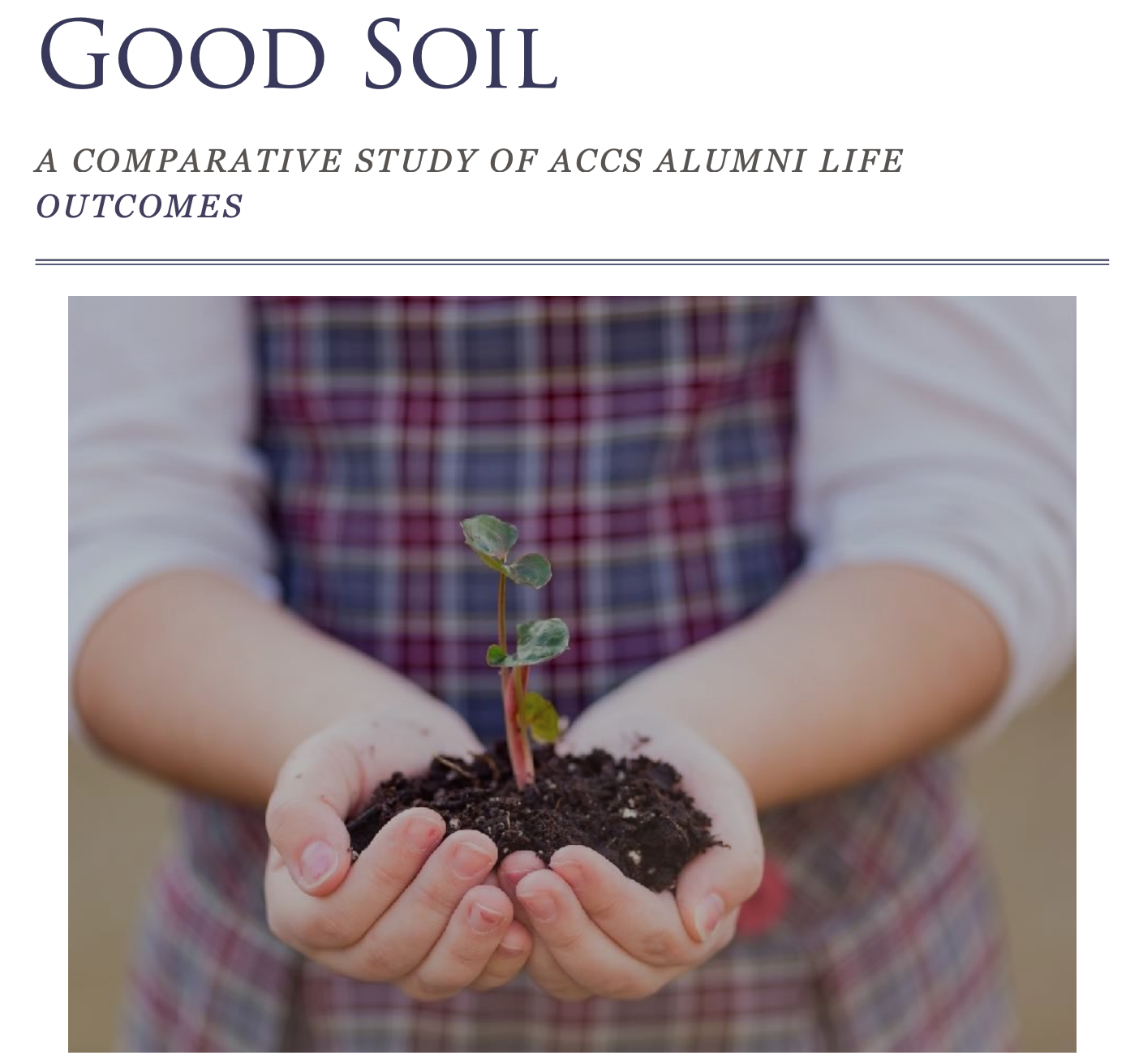 The Good Soil